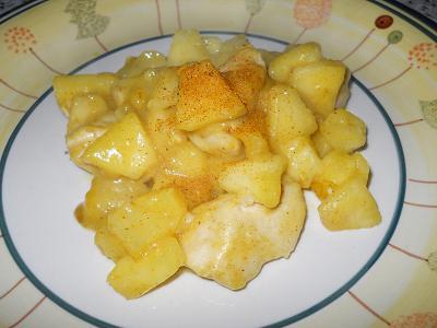 pollo e mele