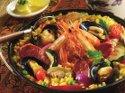 paella preparata con il variety coocker