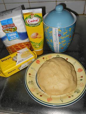 ingredienti per i biscotti alla maionese