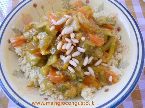 Cucinare bene il couscous con le verdure for Cucinare cous cous