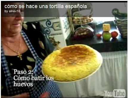 una perfetta tortilla spagnola preparata in casa