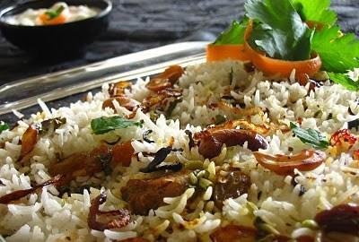 pollo e riso indiano