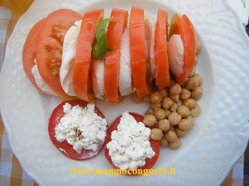 un piatto fresco estivo