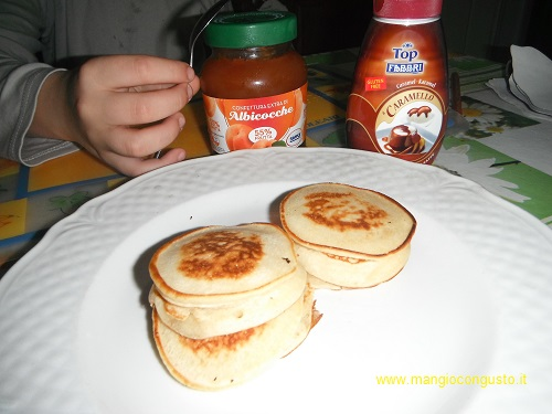 Pancake americani da farcire a piacere