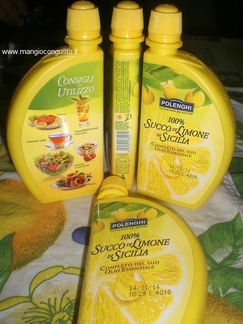 succo di limone polenghi