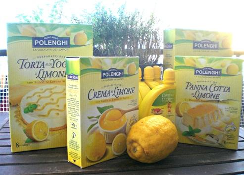 i dolci al limone Polenghi