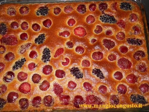 come preparare un clafoutis di frutti rossi