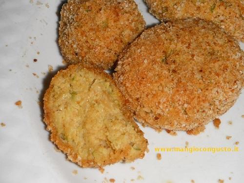 crocchette di zucchine e ricotta
