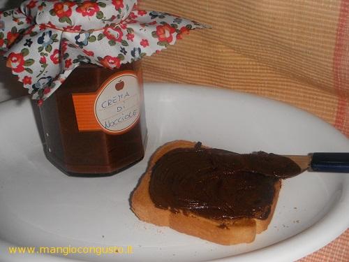 crema di nocciole (o nutella) fatta in casa