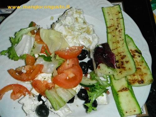 piatto zucchine