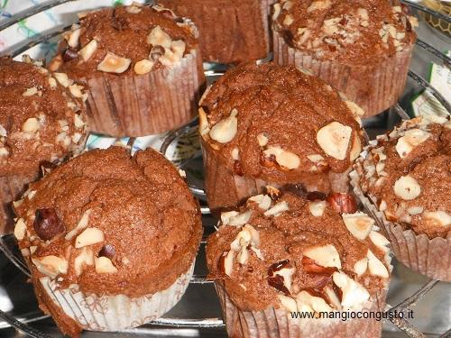 muffin alla Nutella pronti da mangiare