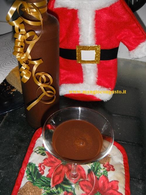 liquore al caffè e cioccolato