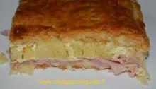 torta patate e prosciutto
