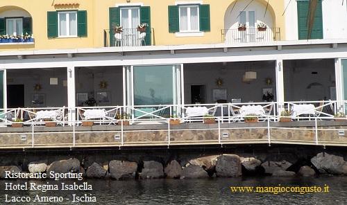 ristorante hotel regina isabella