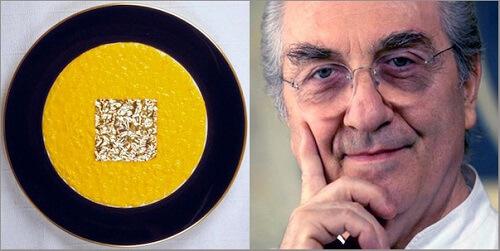 risotto oro e zafferano Gualtiero Marchesi