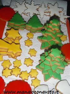 la mia produzione di biscotti di Natale