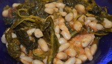 zuppa di rape e fagioli