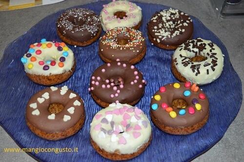 ciambelle donuts decorate