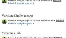 ebook ricette dolci di mangiocongusto