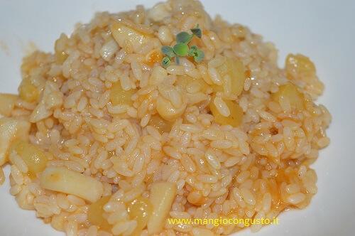 riso seppie e patate