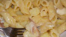 pasta patate e speck