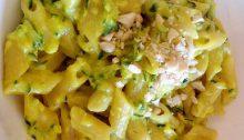 pasta zucchine e curcuma