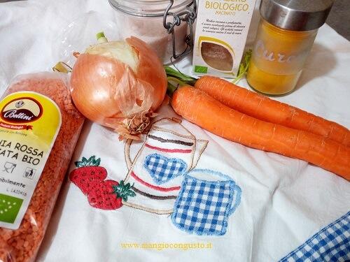 ingredienti crema di lenticchie