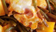 zuppa fagiolini e patate