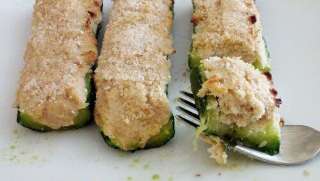 zucchine con ripieno al tonno