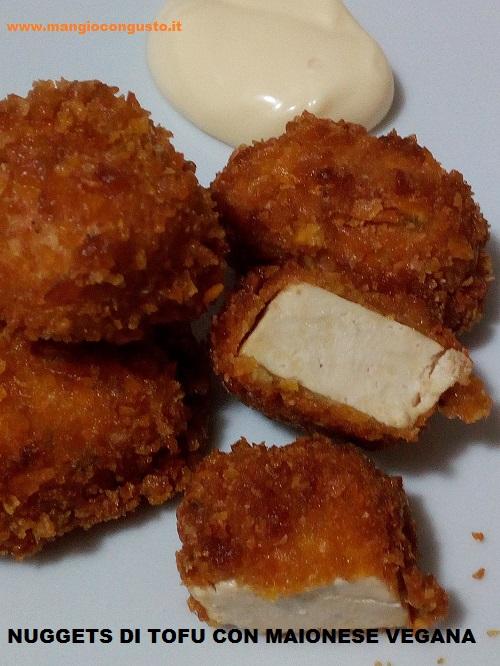 bocconcini di tofu impanato