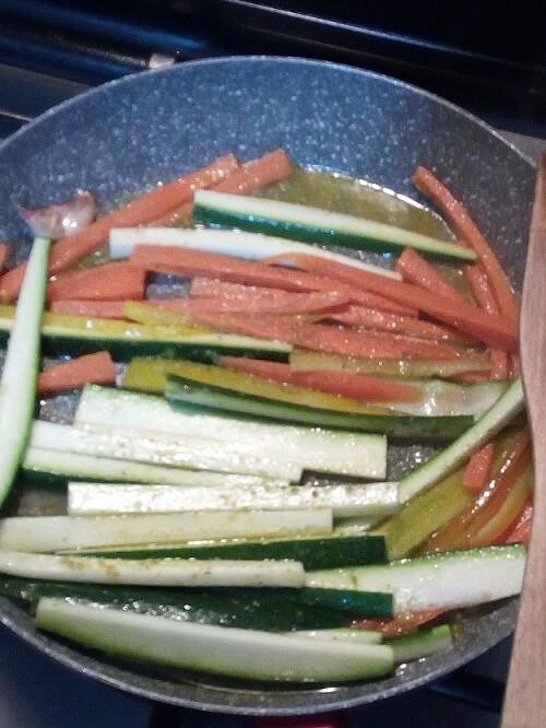 verdure per involtini