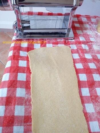 pasta fatta in casa per lasagne