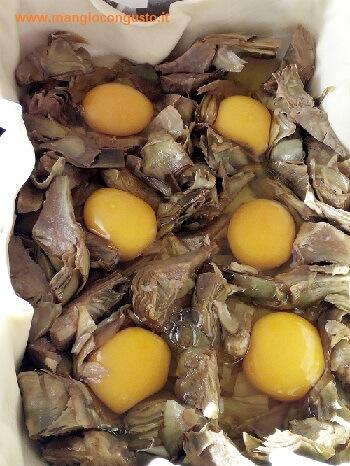 uova nella torta pasqualina