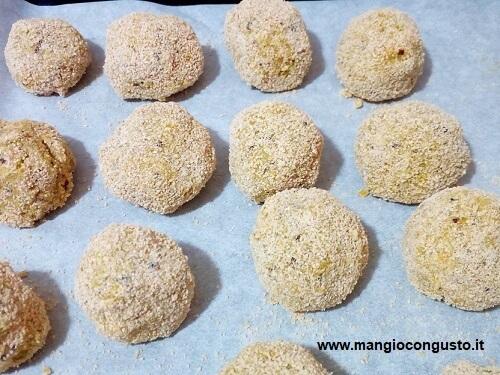 polpette quinoa crude