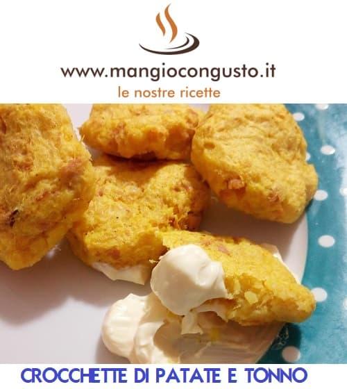 crocchette tonno e patate