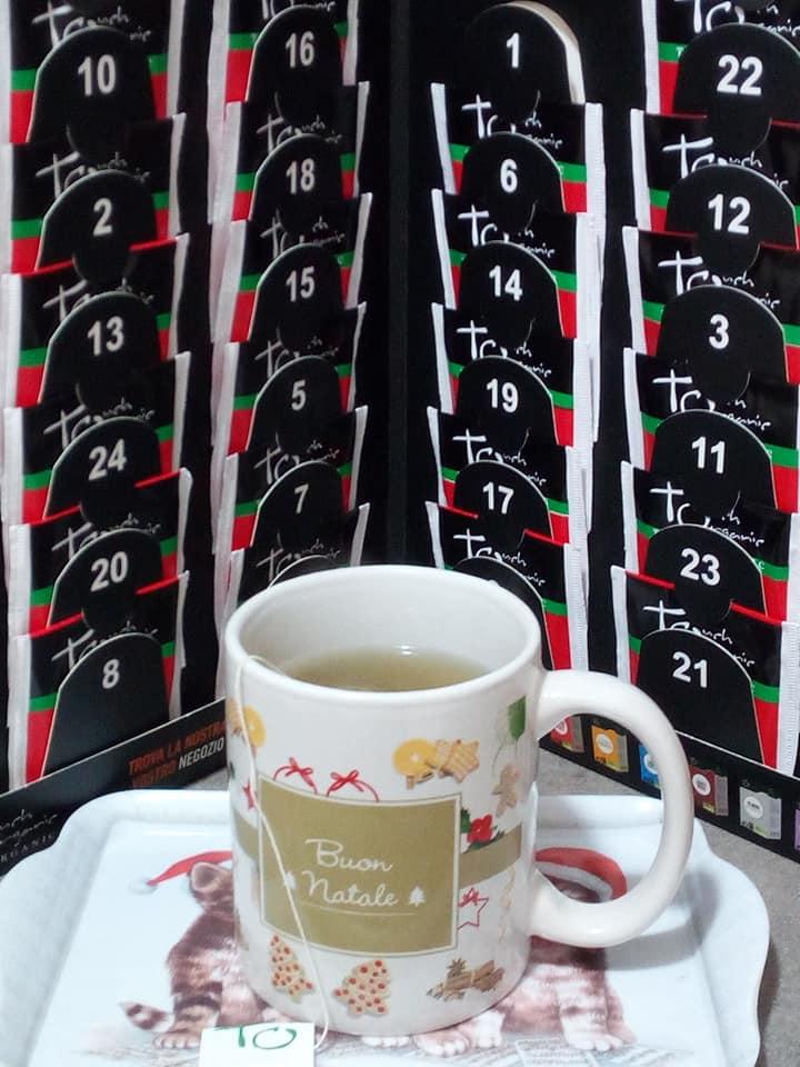 calendario dell'avvento del tè