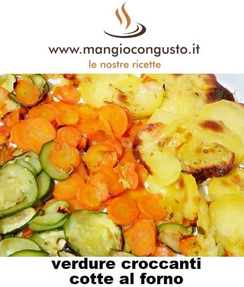 verdure croccanti cotte al forno
