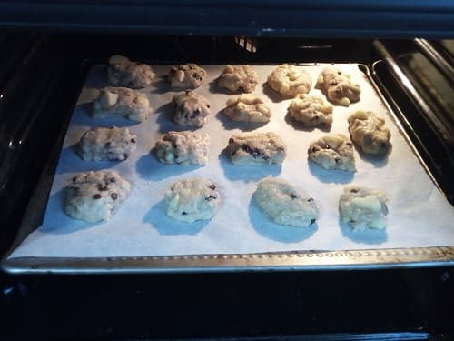 i miei biscotti in forno