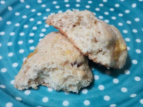 il biscotto vegan mele e cioccolato