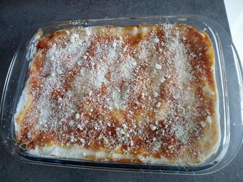 lasagne con ragù di lenticchie rosse