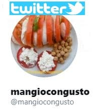 mangiocongusto.it su twitter